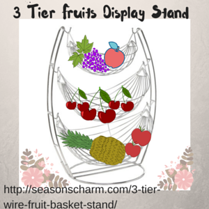 3 Tier Fruits Display Stand
