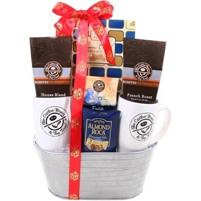 Coffee and Tea Gift Basket, 9 pc