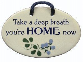 Small Handmade Ceramic Wall Plaque For Home