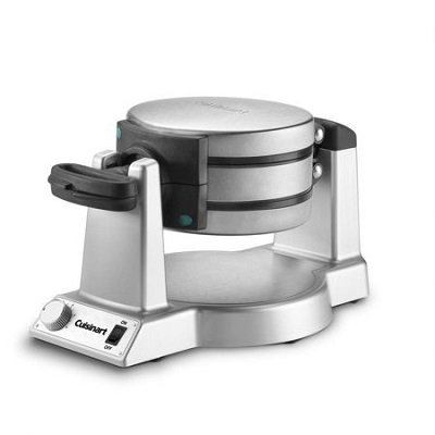 Cuisinart Double Belgian Waffle Maker Round, Stainless Steel