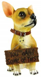Housewarming Gift For Dog Lovers - Dog Welcome Statue