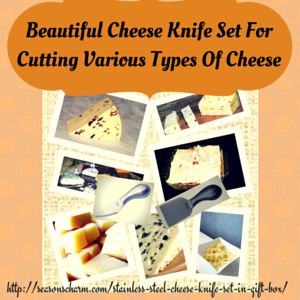 Cheese Knife Set To Cut Various Types Of Cheese