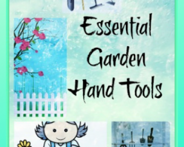 garden tools with bag housewarming gift