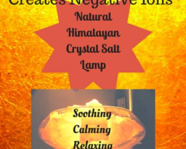 Himalayan Salt Lamp Housewarming Gift