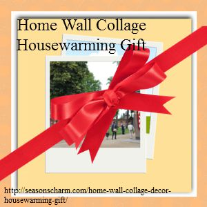 Housewarming Gift Home Wall Collage