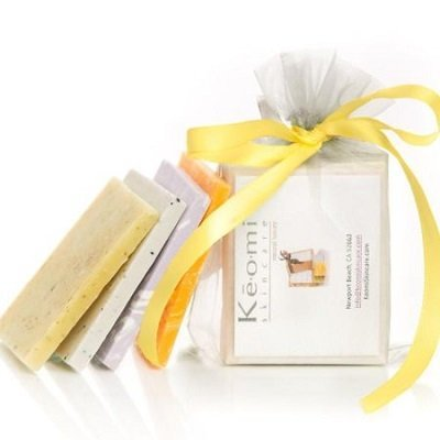 KEOMI NATURALS - Organic Handmade Soap Sampler Set (4 pieces)