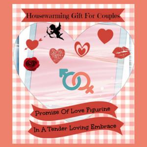 Love Couple Figurine Housewarming Gift