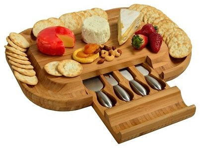 Malvern Deluxe Cheese Board knife Set