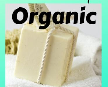 Scented organic handmade soap set