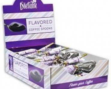 Gourmet Mocha Chocolate Flavored Spoons Gift Box