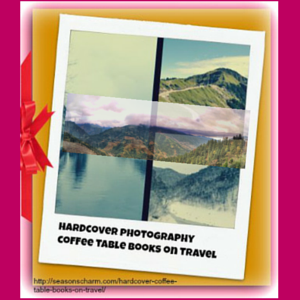 Hardcover Photography Coffee Table Books On Travel