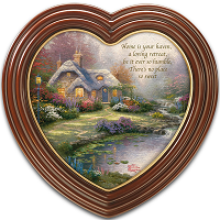 Home Sweet Home Heart-Shaped Framed Wall Art