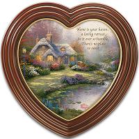 Home Sweet Home Heart-Shaped Framed Wall Art