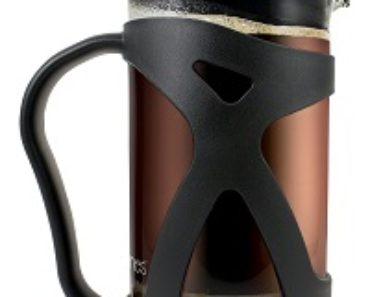 KONA French Press Glass Coffee Maker With Filter