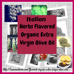 Mantova Garlic, Basil, Chili, Lemon Flavored Organic Extra Virgin Olive Oil Gift Set