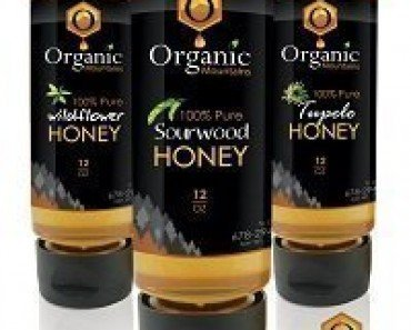 Organic Mountains Raw Sourwood, Wildflower, Orange Blossom Honey