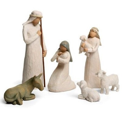 6 pieces Willow Tree Nativity Set