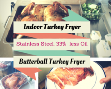 Butterball Electric Indoor Stainless Steel Turkey Fryer Gift Idea