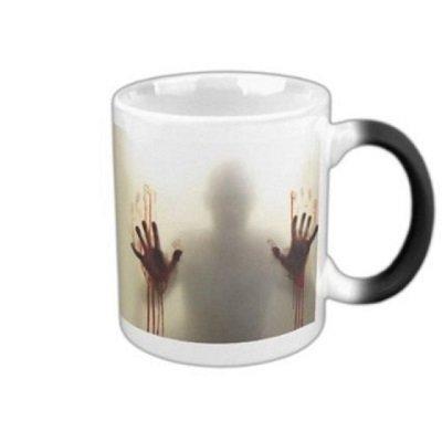 The Walking Dead Zombies Magic Color Changing Coffee Mugs Tea Mug
