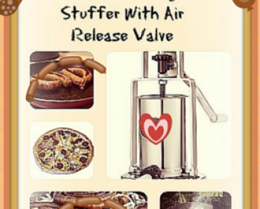 Best 5 lb Stainless Steel Vertical Sausage Stuffer With Air Release Valve