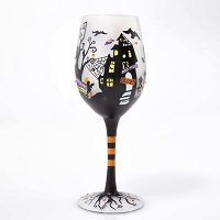 Enesco Lolita Wine Glass Fright Night Wine_Glass 9 In