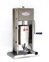 Hakka 7 Lb-3 L Sausage Stuffer 2 Speed Stainless Steel Vertical 5-7 Lb Sausage Maker