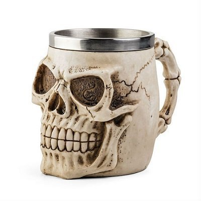 Skull Skeleton 3D Skeleton Tankard Mug Cup Coffee Beer Pirate Gothic