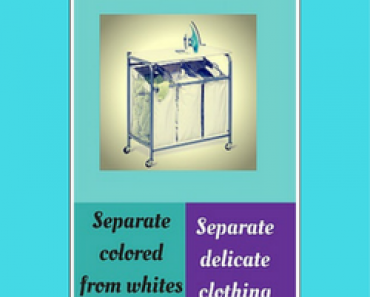 3 Bag Laundry Sorter With Ironing Board