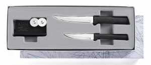 Rada Cutlery G236 Paring Pair Plus Sharpener Knife Gift Set