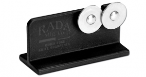 Rada Cutlery Quick Edge Knife Sharpener with Hardened Steel Wheels