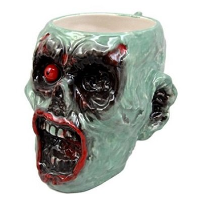 Infected Zombie Grotesque Face Coffee Cup Drink Ceramic Mug