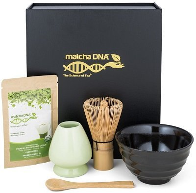 Black Matcha Tea Gift Set