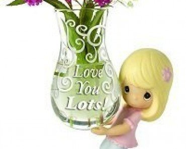 Love You Lots! Glass Bud Vase