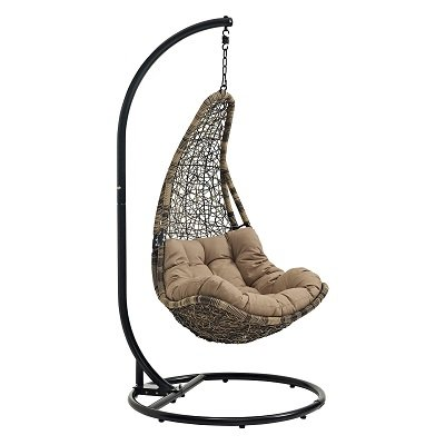 Outdoor Patio Swing Chair with Stand