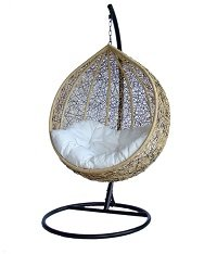 Outdoor Wicker Swing Chair - The Great Hammocks