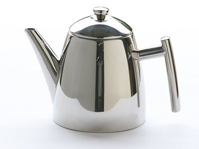Frieling USA 18-10 Stainless Steel Primo Teapot with Infuser, 34-ounce