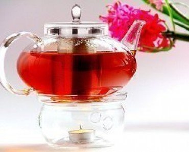 Glass Teapot Harmony, 42oz with Tea Warmer Cozy Lead Free Special Glass No Drip by Tea Beyond