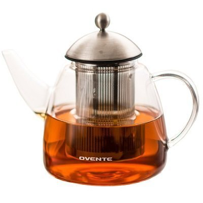 Ovente Glass Teapot, 61 oz
