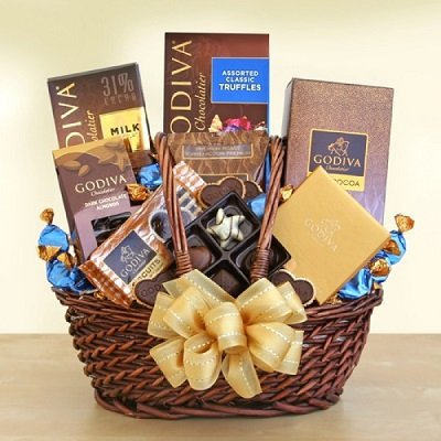 Gift Basket Godiva Executive Style