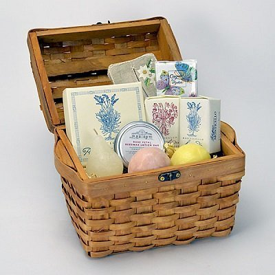 Monticello Butterfly and Flowers Gift Basket