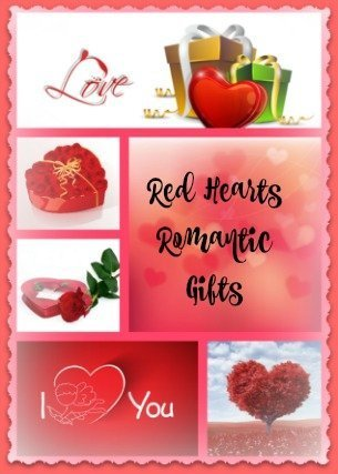 Red Hearts Romantic Gifts To Say I Love You On Valentine S Day