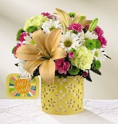 The Brighter Than Bright Bouquet