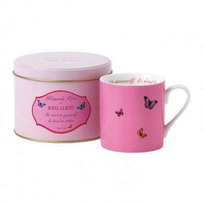 Be Kind To Yourself, Be Kind To Others Pink Mug In Tin