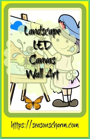 Lighted Landscape LED Canvas Wall Art