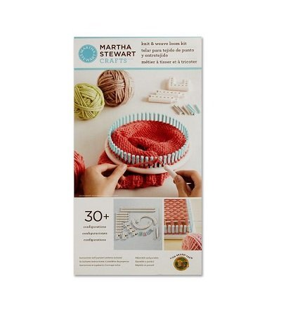 Martha Stewart Crafts Knit & Weave Loom Kit