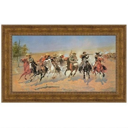 A Dash for the Timber, 1889 Canvas Replica Painting