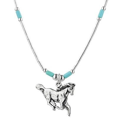 Noble Horse Sterling Necklace