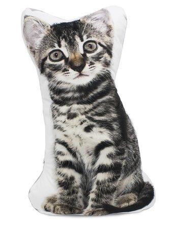 3D Cat Shaped Soft Cushion Pillow