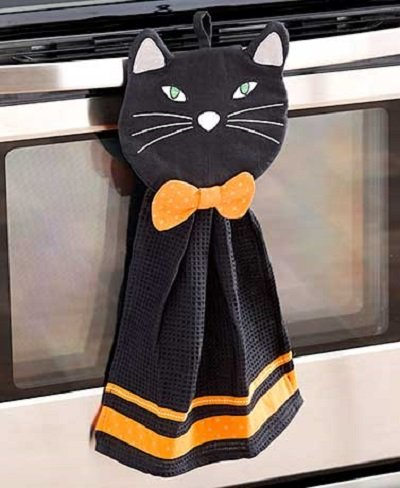 Black Cat Kitchen towel