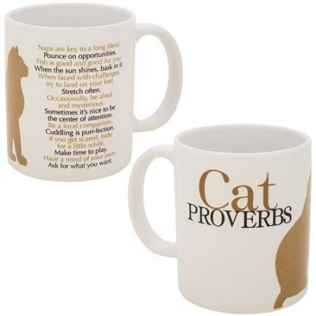 Cat Proverbs Mug